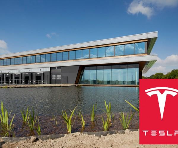 Aanleg tuinen Tesla Tilburg
